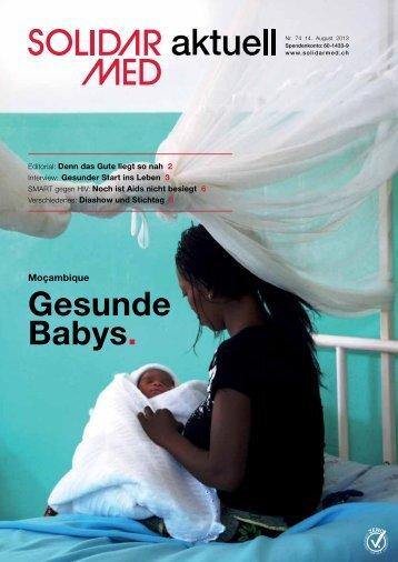"""""""SolidarMed aktuell"""": Gesunde Babys"""