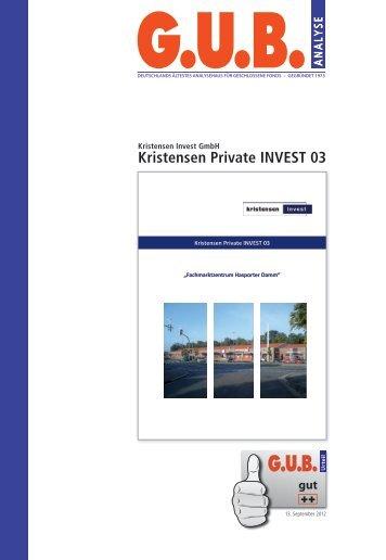 Kristensen Private INVEST 03
