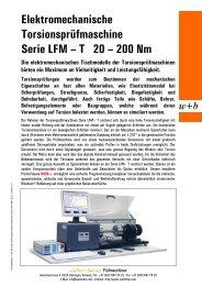 T 20 - walter+bai ag  Testing Machines