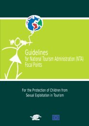 Guidelines for National Tourism Administration