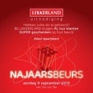 uitnodiging - Lekkerland