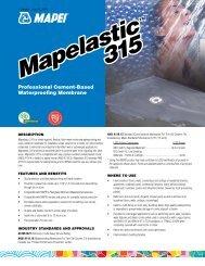 Mapelastic 315 Mapelastic 315 - BuildSite.com
