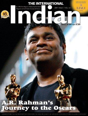 A.R. Rahman's Journey to the Oscars - International Indian
