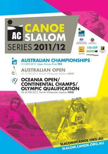 OLYMPIc QuALIFIcATIOn - Australian Canoeing