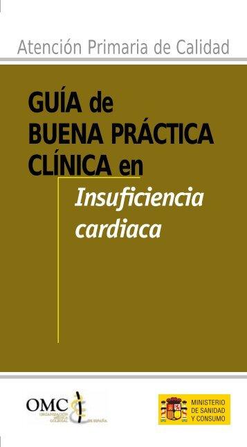 Guía de Buena Práctica Clínica en Insuficiencia cardiaca - CGCOM