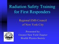 What Is Radiation? - The Regional Emergency Medical Services ...