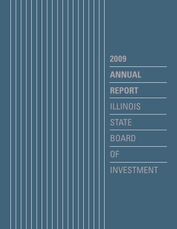 Annual Report PDF file 2009 - State of Illinois