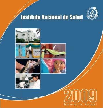 Instituto Nacional de Salud - BVS Minsa - Ministerio de Salud