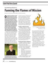September 2012 supplement - Saint Paul Area Synod