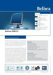 Belinea 2080 S1 - MEM SA - Shop