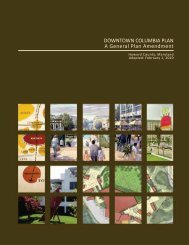 Downtown Columbia Plan - Plan Howard 2030