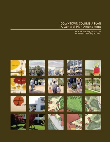 Downtown Columbia Plan - Plan Howard 2030