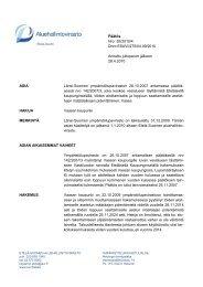 Päätös Nro 55/2010/4 Dnro ESAVI/275/04.09/2010 Annettu ...