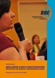 Inklusion durch Partizipation: Ein Beitrag von ... - BBE