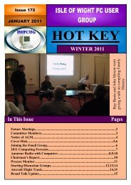 Issue 172 - Jan - Isle of Wight PC User Group
