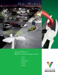 Venture Lighting's LeafNut Wireless Lighting Control System ...