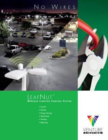 Venture Lighting's LeafNut Wireless Lighting Control System ...
