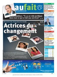 Entrevue avec le quotidien aufait, 21 décembre 2008 - CCME