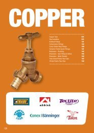 Copper, Fittings and Lead - City Plumbing Supplies