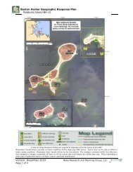 BH-15 Peddocks Island - Massachusetts Geographic Response Plans