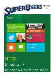 Windows 8 Kurser & Certificeringer - SuperUsers a/s