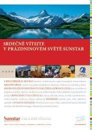 Srdečně vítejte v prázdninovém Světě SunStar - Moje Švýcarsko.com