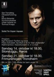 program - Sør-Trøndelag Orkesterforening