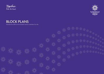 Hambantota 2018 Block Plans - Commonwealth Games Federation