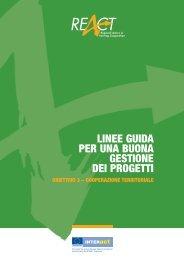 linee guida per una buona gestione dei progetti - Fondi Europei ...