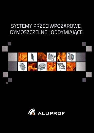 Systemy przeciwpozarowe dymoszczelne i ... - Aluprof SA
