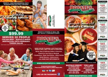 Party Package #2 - Rosati's Pizza