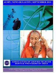 AUSPI News Bulletin-September 2011 - Auspi.in