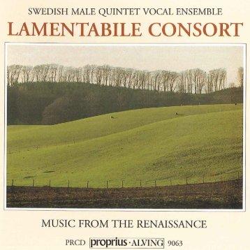 LAMENTABILE CONSQRT F - Naxos Music Library