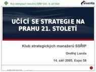 učící se strategie na prahu 21. století - InterLeader