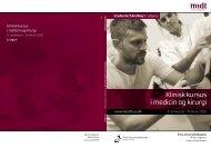 Klinisk kursus i medicin og kirurgi - Aarhus Universitetshospital