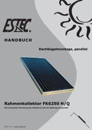 Montageanleitung Prestige Dachbügel 0 - Gerenda Solar