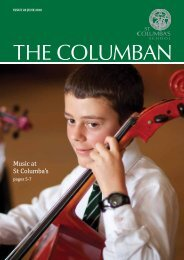 Music at St Columba's - St Columba's School