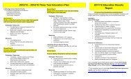 3 Year Plan - Gilbert Paterson Community School - Lethbridge ...
