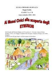 Alla scoperta degli Etruschi - Comune di Reggio Emilia