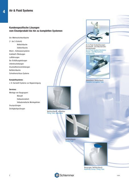 Customized solutions - Schlemmer