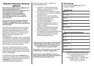 Migräne-Patienten-Seminar MIPAS® - Volkshochschule Husum