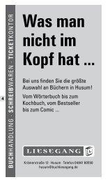 Sprachen - Volkshochschule Husum