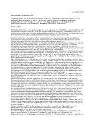 Nachhaltigkeit: Baustelle Schweiz - Politische Bildung