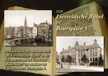 Van Liesveldsche Bijbel tot Beursplein 5: Bible Hotel - theobakker.net