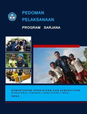 PEDOMAN PELAKSANAAN - Website Resmi SM-3T Universitas ...