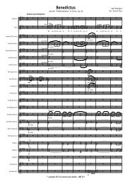 Benedictus (Vocal) - Score.MUS - Lucerne Music Edition