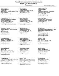 National Association of Surety Bond Producers Registration List