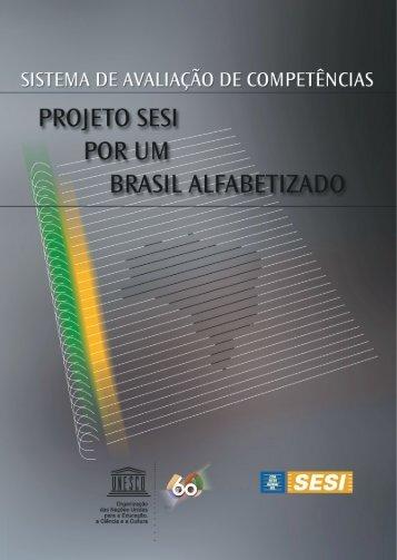 avaliação do Projeto SESI – Por um Brasil Alfabetizado - CNI