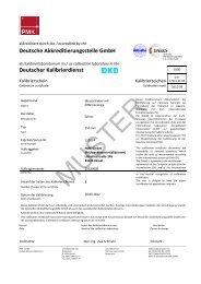 DAkkS-Kalibrierschein - PMK - GmbH
