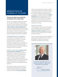 MESSAGE FROM THE CHAIRMAN OF THE BOARD - Gerdau